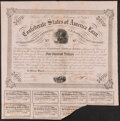 Confederate Notes:Group Lots, Ball 221 Cr. 121 $500 1863 Bonds Two Examples Fine.. ... (Total: 2 items)