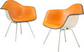 Furniture, Charles Eames (American, 1907-1978) and Ray Kaiser Eames (America, 1912-1988). Two MAX-1 Chairs, 1960s, Herman Miller. F... (Total: 2 Items)