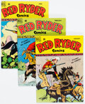 Golden Age (1938-1955):Western, Red Ryder Comics Group of 4 (Dell, 1950).... (Total: 4 Comic Books)