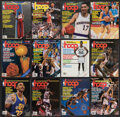 Basketball Collectibles:Publications, 1988-94 Hoop Magazines with Hall of Famers & Stars Covers Lot of 20....