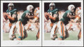 Autographs:Others, Dan Marino Signed Lithographs, Lot 3.... (Total: 3 items)