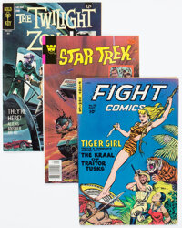 Silver Age Adventures and Science Fiction Comics Group of 17 (Various Publishers, 1960s) Condition: Average FN/VF.... (T...