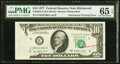 Error Notes:Obstruction Errors, Obstructed Printing Error with Rejection Mark Fr. 2023-E $10 1977 Federal Reserve Note. PMG Gem Uncirculated 65 EPQ.. ...