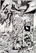 Original Comic Art, George Perez and Al Vey The Avengers #15 Story Page 15 Original Art (Marvel, 1999)....