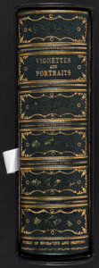 Miscellaneous:Other, Bureau of Engraving and Printing Vertically Formatted Presentation Vignettes and Portraits Book ND circa 1870s.. ...