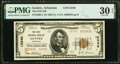National Bank Notes:Arkansas, Gentry, AR - $5 1929 Ty. 2 The First National Bank Ch. # 12340 PMG Very Fine 30 EPQ.. ...