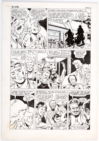 Mike Sekowsky and Ron Harris Wonder Wheels Unpublished Story Page 2 Original Art (c. 1978)