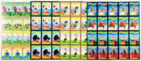Carl Barks' Heroes and Villains Uncut Trading Card Press Sheet Group of 4 (Walt Disney/Gladstone, c. 1990s).... (Total:...