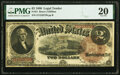 Large Size:Legal Tender Notes, Fr. 51 $2 1880 Legal Tender PMG Very Fine 20.. ...