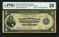 Fr. 786 $5 1918 Federal Reserve Bank Note PMG Very Fine 20