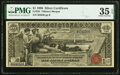 Large Size:Silver Certificates, Fr. 224 $1 1896 Silver Certificate PMG Choice Very Fine 35 EPQ.. ...