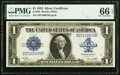 Large Size:Silver Certificates, Fr. 238 $1 1923 Silver Certificate PMG Gem Uncirculated 66 EPQ.. ...