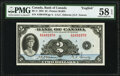 Canada Bank of Canada $2 1935 Pick 40 BC-3 PMG Choice About Unc 58 EPQ