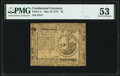 Continental Currency May 10, 1775 $2 PMG About Uncirculated 53