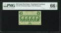 Fr. 1310 50¢ First Issue PMG Gem Uncirculated 66 EPQ