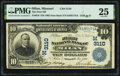 National Bank Notes:Missouri, Milan, MO - $10 1902 Date Back Fr. 616 The First National Bank Ch. # (M)3110 PMG Very Fine 25.. ...