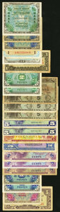 Military Payment Certificates:Series 472, MPC, AMC, JIM, and More Very Good or Better.. ... (Total: 58 notes)