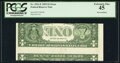 Inverted Back Error Fr. 1921-E $1 1995 Federal Reserve Note. PCGS Extremely Fine 45