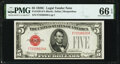 Small Size:Legal Tender Notes, Fr. 1528 $5 1928C Legal Tender Note. PMG Gem Uncirculated 66 EPQ.. ...