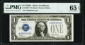 Small Size:Silver Certificates, Fr. 1601* $1 1928A Silver Certificate. PMG Gem Uncirculated 65 EPQ.. ...