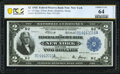 Fr. 752 $2 1918 Federal Reserve Bank Note PCGS Banknote Choice Unc 64 Details
