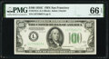 Small Size:Federal Reserve Notes, Fr. 2155-L $100 1934C Federal Reserve Note. PMG Gem Uncirculated 66 EPQ.. ...