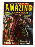 Golden Age (1938-1955):Science Fiction, Amazing Adventures #2 (Ziff-Davis, 1950) Condition: VG/FN. AlexSchomburg and Murphy Anderson art. Grand Comics Database Pro...