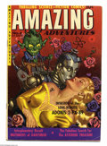 Golden Age (1938-1955):Science Fiction, Amazing Adventures #4 (Ziff-Davis, 1951) Condition: VG/FN. Paintedpulp-style cover. Murphy Anderson art. Overstreet 2004 VG...