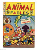 Golden Age (1938-1955):Funny Animal, Animal Fables #7 (EC, 1947) Condition: FN. Origin Moon Girl.Overstreet 2004 FN 6.0 value = $186....