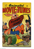 Golden Age (1938-1955):Funny Animal, Animated Movie-Tunes #2 (Timely, 1946) Condition: VF+. SuperRabbit, Ziggy Pig, and Silly Seal. Overstreet 2004 VF 8.0 value...
