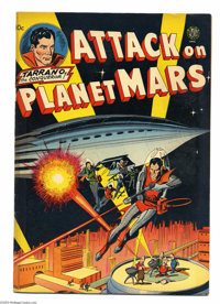 Attack on Planet Mars #nn (Avon, 1951) Condition: VF-. Carmine Infantino, Gene Fawcette, Joe Kubert, and Wally Wood art...