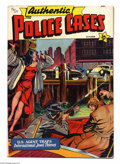 Authentic Police Cases #9 (St. John, 1950) Condition: VG/FN. Matt Baker cover. Overstreet 2004 VG 4.0 value = $38; FN 6...