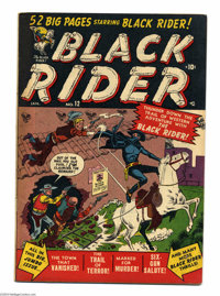 Black Rider #12 (Atlas, 1951) Condition: VG+. George Tuska art. Overstreet 2004 VG 4.0 value = $36