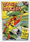 Golden Age (1938-1955):Adventure, Buck Rogers #4 (Eastern Color, 1942) Condition: FR. Overstreet 2004 GD 2.0 value = $112....