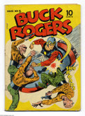 Golden Age (1938-1955):Science Fiction, Buck Rogers #5 (Eastern Color, 1943) Condition: GD/VG. Storycontinues with Famous Funnies #80. Centerfold detached. Ove...