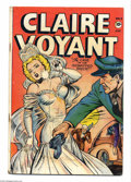 Golden Age (1938-1955):Crime, Claire Voyant #3 (Pentagon, 1947) Condition: GD/VG. Jack Kamen bridal cover. Contents mentioned in Love and Death, a boo...