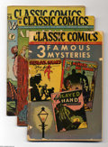 Golden Age (1938-1955):Classics Illustrated, Classics Illustrated Group (Gilberton, 1944-46) Condition: AverageVG. The comics in this group include some Canadian editio...(Total: 23 Comic Books Item)