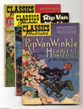 Silver Age (1956-1969):Classics Illustrated, Classics Illustrated Group (Gilberton, various years) Condition:Average GD/VG. Sixty-eight issues in this lot include #12 (...(Total: 68 Comic Books Item)
