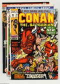 Bronze Age (1970-1979):Miscellaneous, Conan the Barbarian Group (Marvel, 1971-74) Condition: Average FN.This group includes #10 (King Kull appearance), #13, #21,...(Total: 8 Comic Books Item)