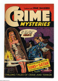 "Golden Age (1938-1955):Horror, Crime Mysteries #7 (Ribage Publishing, 1953) Condition: FN. Mummycover. Weird devil story titled ""Sons of Satan"". Overstree..."