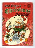 Golden Age (1938-1955):Cartoon Character, Dell Giant Comics - Christmas Parade #1 (Dell, 1949) Condition: GD. First Dell Giant. Donald Duck by Carl Barks. Overstreet ...