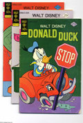 Bronze Age (1970-1979):Cartoon Character, Donald Duck Group (Gold Key, 1975-79) Condition: Average VG/FN.Includes issues #164, 166, 168-174, 176, 180, 181, 183, 187-...(Total: 22 Comic Books Item)