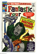 Silver Age (1956-1969):Superhero, Fantastic Four Annual #2 (Marvel, 1964) Condition: FN. Square bound issue; origin of Doctor Doom. Jack Kirby art. Overstreet...