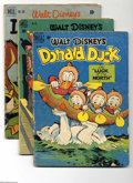 "Golden Age (1938-1955):Funny Animal, Four Color Donald Duck Group (Dell, 1949-52) Condition: Average GD.Includes the following issues: #256 (""Luck of the North""... (Total:6 Comic Books Item)"