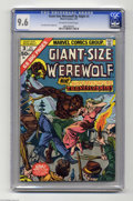 Bronze Age (1970-1979):Horror, Giant-Size Werewolf By Night #3 (Marvel, 1975) CGC NM+ 9.6Off-white to white pages. Don Perlin art. CGC has only gradedone...