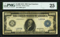 Fr. 1133-L $1,000 1918 Federal Reserve Note PMG Very Fine 25