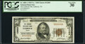 National Bank Notes:Texas, Lubbock, TX - $50 1929 Ty. 1 The Lubbock National Bank Ch. # 12683 PCGS Very Fine 30.. ...