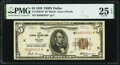 Small Size:Federal Reserve Bank Notes, Fr. 1850-K* $5 1929 Federal Reserve Bank Note. PMG Very Fine 25 EPQ.. ...