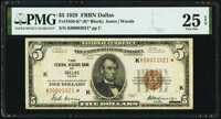 Fr. 1850-K* $5 1929 Federal Reserve Bank Note. PMG Very Fine 25 EPQ
