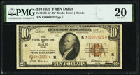 Fr. 1860-K* $10 1929 Federal Reserve Bank Note. PMG Very Fine 20